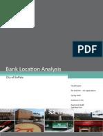 GIS - Bank Location Analysis