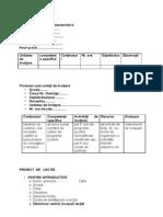 Model de planificare,de unitate de invatare, proiect
