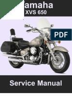 yamaha xvs 650 vstar service repair manual 1997 2006