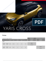 WEB PL YarisCross Vorverkaufspreisliste