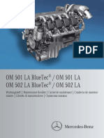 Maintenance OM501-502LA