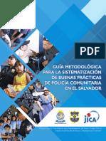 Guia de las buenas prácticas de la PNC Comunitaria en El Salvador