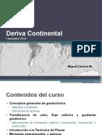 Clase 01 deriva continental