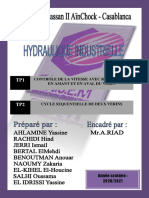 TP HYDRAU (1 ET 2)