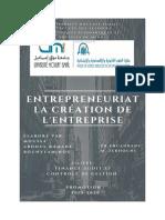Entrepreneuriat Simulation de Création d'Entreprises