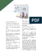 Simulado de Português 6 Ano