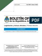 Decreto de Necesidad y Urgencia (DNU) N° 235