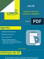 aula 09 gestão de pessoas