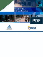 5 Diapositivas Estadistica 1  - 5 Variables Aleatorias