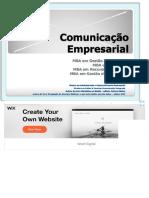 Comunicação Empresarial - PDF Download grátis