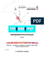 Mec Analytique Et Vibration 01 Chapitre1