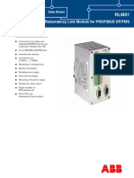 3BDD011641R0301 - En RLM01 Redundancy Link Module for PROFIBUS DP FMS Data Sheet