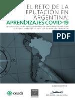 El reto de la reputación en la Argentina