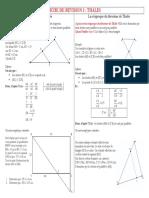 Pack Fiches Brevet Maths