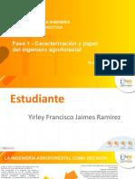 Fase 1 - Caracterización y papel del ingeniero agroforestal