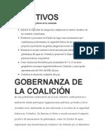 OBJETIVOS DE CONTAMINACION DEL AGUA