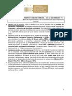 Proyecto de Ley - Fondos privados de pensiones