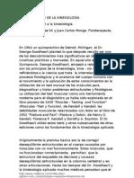 HISTORIA DE LA KINESIOLOGIA