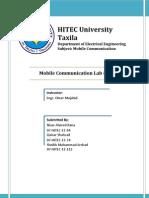 Mobile Communication LAB 04
