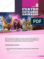 Lección 8 Cuatro Extraños Animales