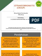Referat Laryngotrachobronchitis