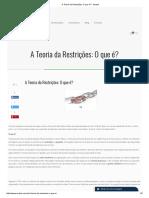 A Teoria Da Restrições_ O Que É_ - Auctus