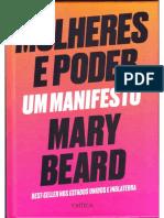 BEARD Mulheres e Poder L