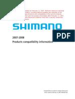 2008 SHIMANO Compatibility_en