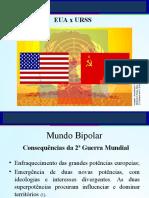 O mundo Bipolar e a Guerra Fria