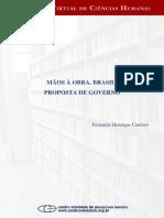 1994 - Mãos a obra - Brasil - Proposta de Governo - FHC