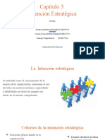 Capítulo 3 Intención Estratégica