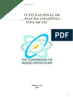 Anais Viii Conic Inpa 2019