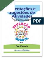 Bloco de Atividades 2021 - Pré-Escola PRIMEIRA SEMANA de AULA (2)