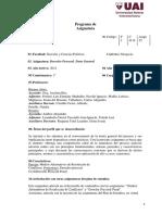 Derecho Procesal. Parte General - 2021
