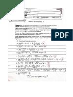 prova calculo p1