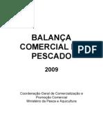 Balança Comercial do Pescado 2009