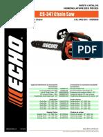 Echo Parts Xs341