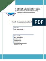 Mobile Communication LAB 07