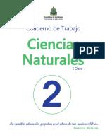 2° CCNN Cuaderno de Trabajo
