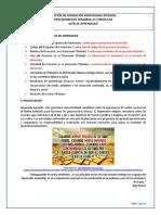 Guía de aprendizaje Ambiental