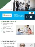 Curso Adopción de Servicio Microsoft enfasis en Teams