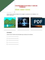 ACTIVIDADESS PARA PRIMERO  DE PRIMARIA
