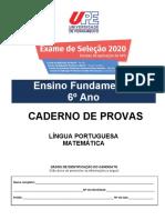 PROVA-ENSINO-FUNDAMENTAL-6Ano portugues