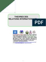 Cours de Theories des Relations Internationales