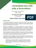 Propuesta de Gobierno 2020-2024