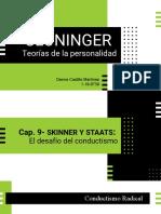 Teorías de la personalidad según Cloninger