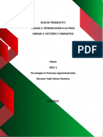 GUIA 1 - FISICA - AGROINDUSTRIAL