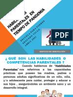 HABILIDADES PARENTALES  SEGUNDO CICLO ABRIL 2021