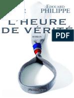 EBOOK Edouard Philippe-LHeure de verite