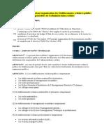 DECRET 2001-041 ORGANISATION DES ETABLISSEMENTS D ENSEIGNEMENT SECONDAIRE ET PR